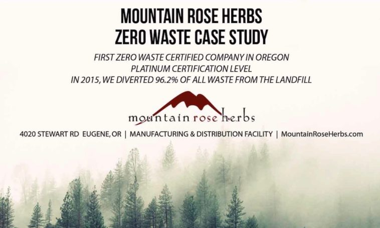 Mountain Rose Herbs achieves Ze