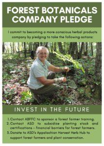 Forest Botanicals Company Pledge