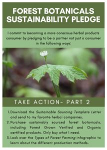Forest Botanicals Sustainability Pledge