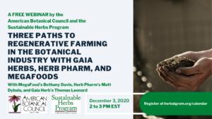 Regenerative Farming Webinar