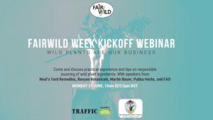 FairWild Week Webinar